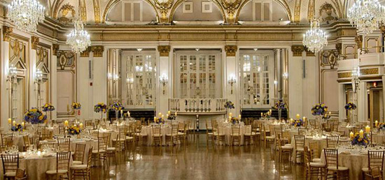 Copley Plaza Hotel Wedding