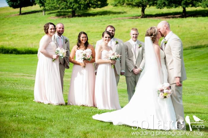 Wedding Party at Gibbet Hill