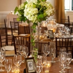 Table Setting- Wedding at Steeple Hall