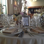 Table Setting - Steeple Hall