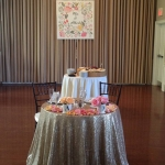 Blinged out Sweetheart Table -Steeple Hall