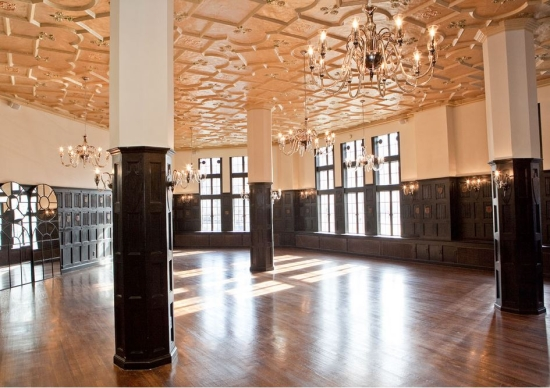 modern ballroom Alden Castle Wedding Venue