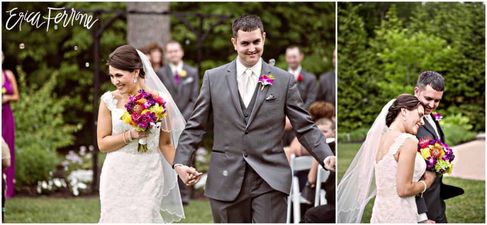 Just married - Renaissance Golf Club Haverhill